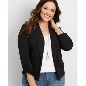 NWT $49 Maurices Black Blazer